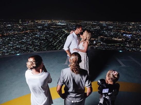 Rio Ferdinand Engaged To Kate Wright After Popping The Question On Top Of Abu Dhabi