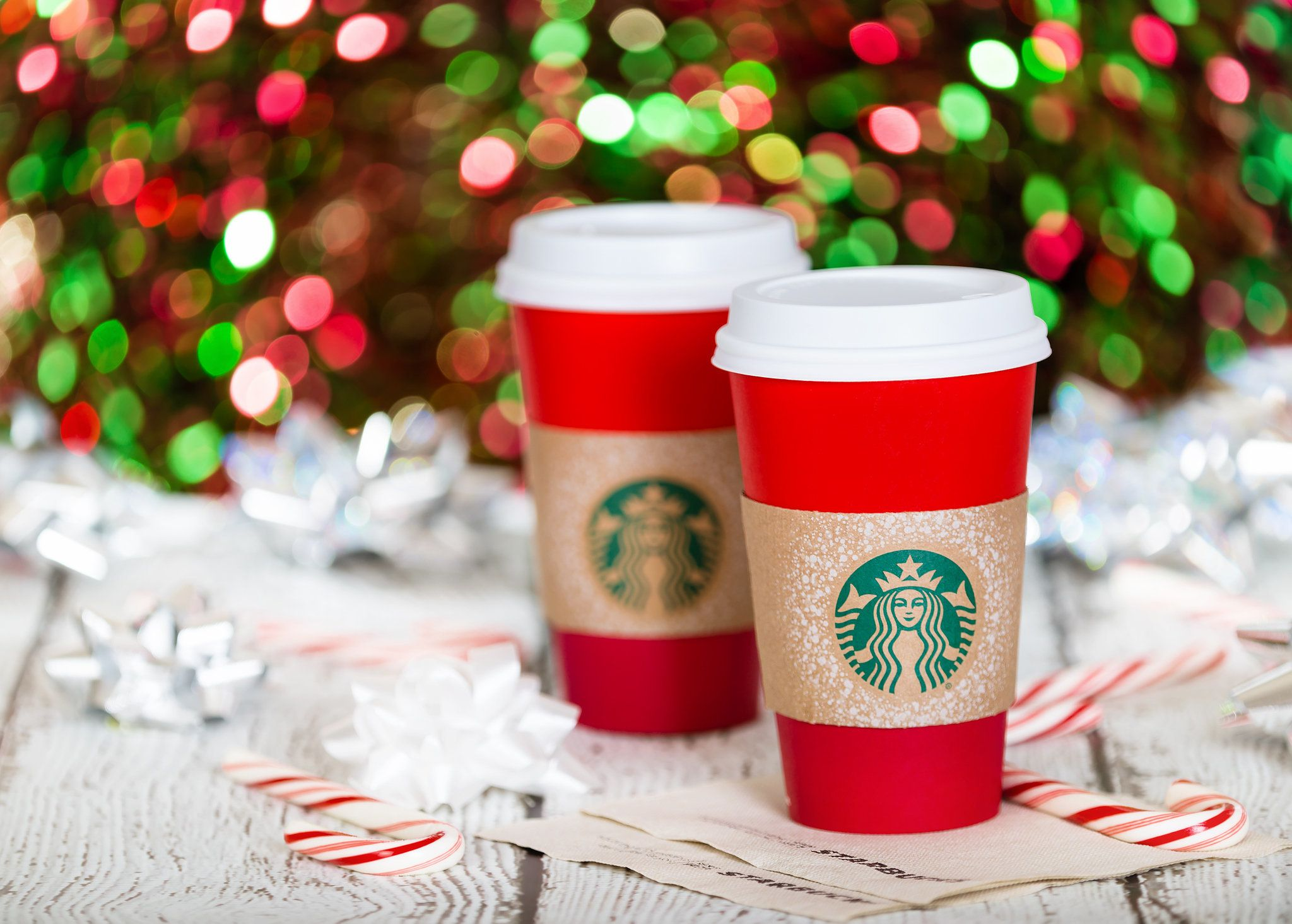 Seeing Red? Christmas Coffee Cups From Starbucks, Caffè Nero, Costa And Pret Are Not Widely