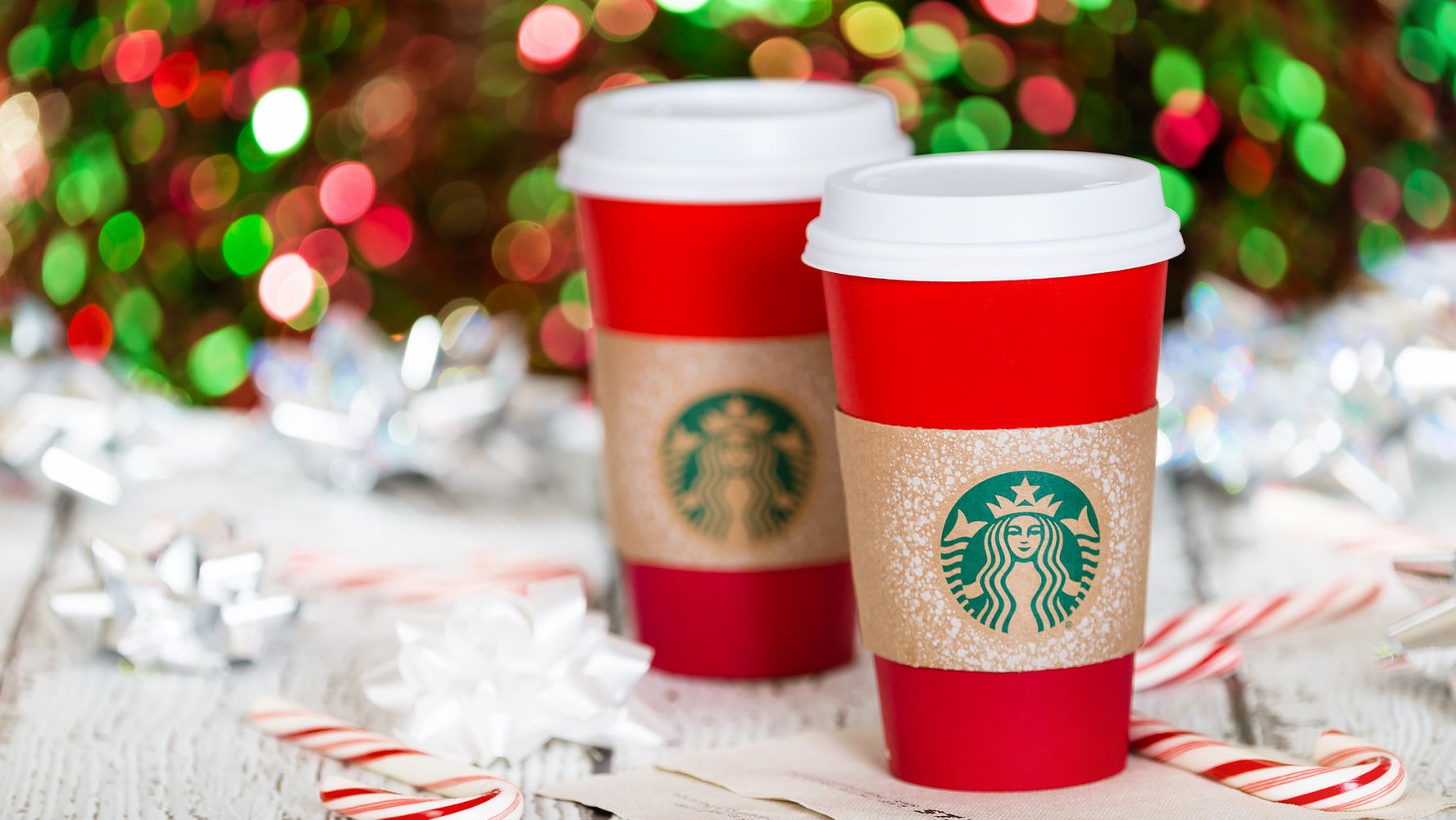 Starbucks Christmas Cups.Seeing Red Christmas Coffee Cups From Starbucks Caffe Nero