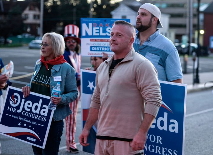 Richard Ojeda waged a fierce campaign as a populist, pro-coal Democrat fighting for the working class.