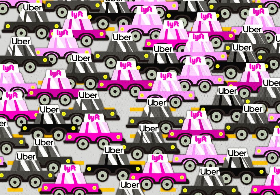 Uber And Lyft Are Making Traffic Worse While Claiming To Fix