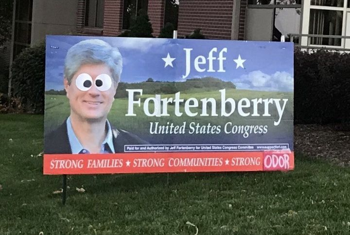 Jeff Fortenberry's chief of staff called up a professor in Nebraska and threatened him for liking this image.