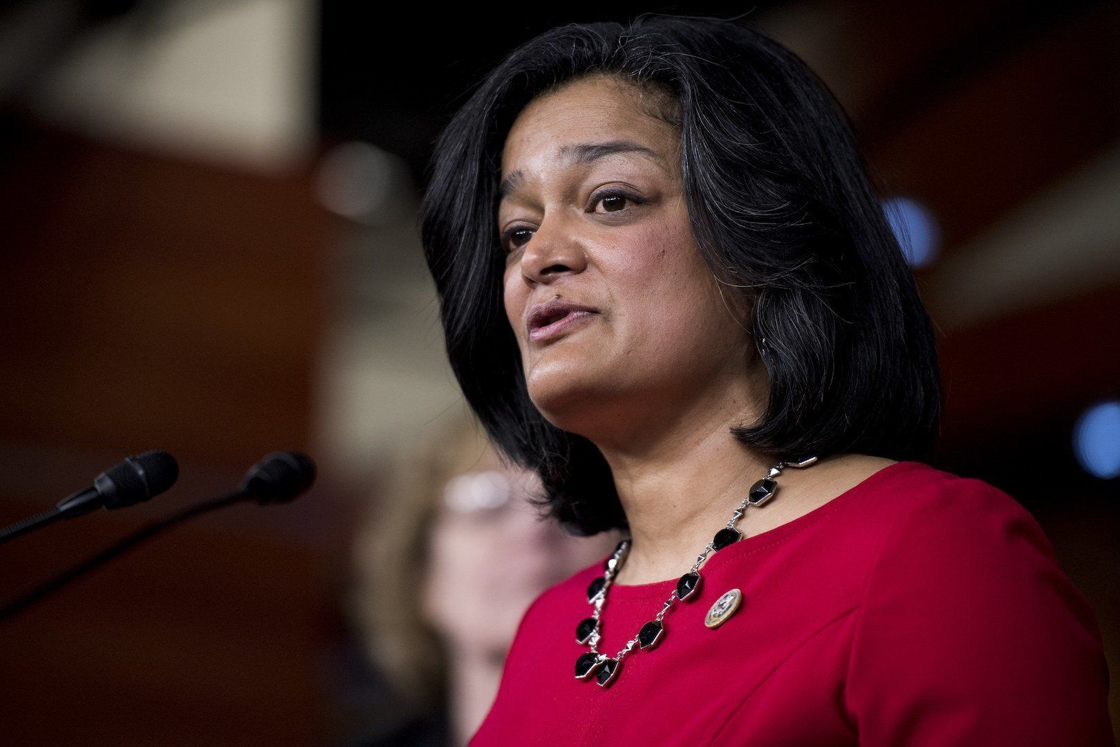Rep. Pramila Jayapal (D-Wash.), a freshman lawmaker, has emerged as an outspoken voice on health care, immigration reform and