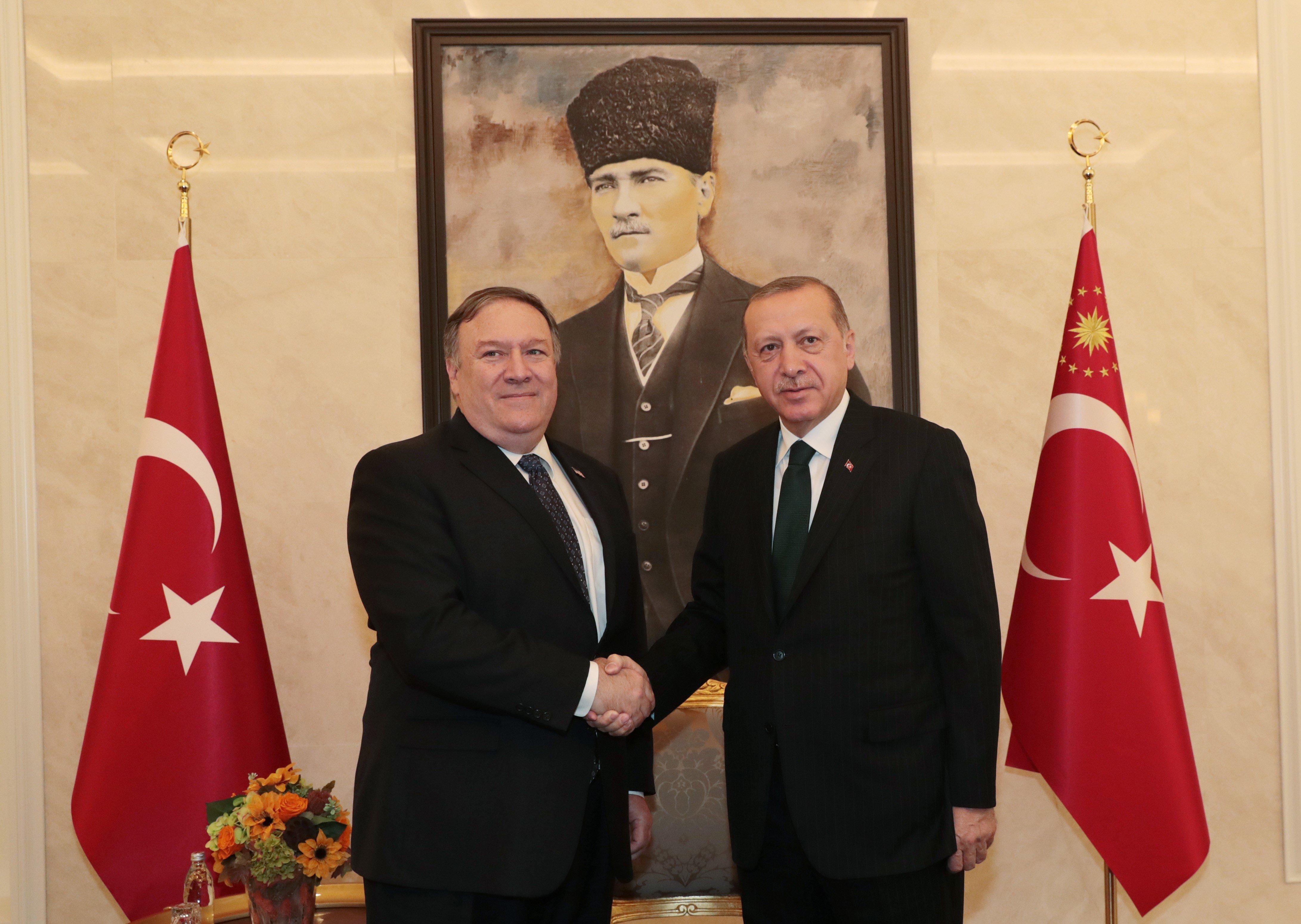 Αυστηρή προειδοποίηση Πομπέο σε Ερντογάν για τις σχέσεις