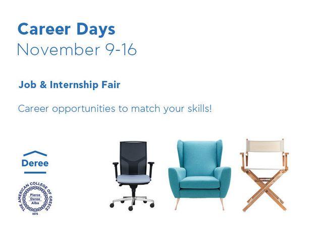 Career Days στο Deree: Ευκαιρίες καριέρας για όλες τις δεξιότητες και τα