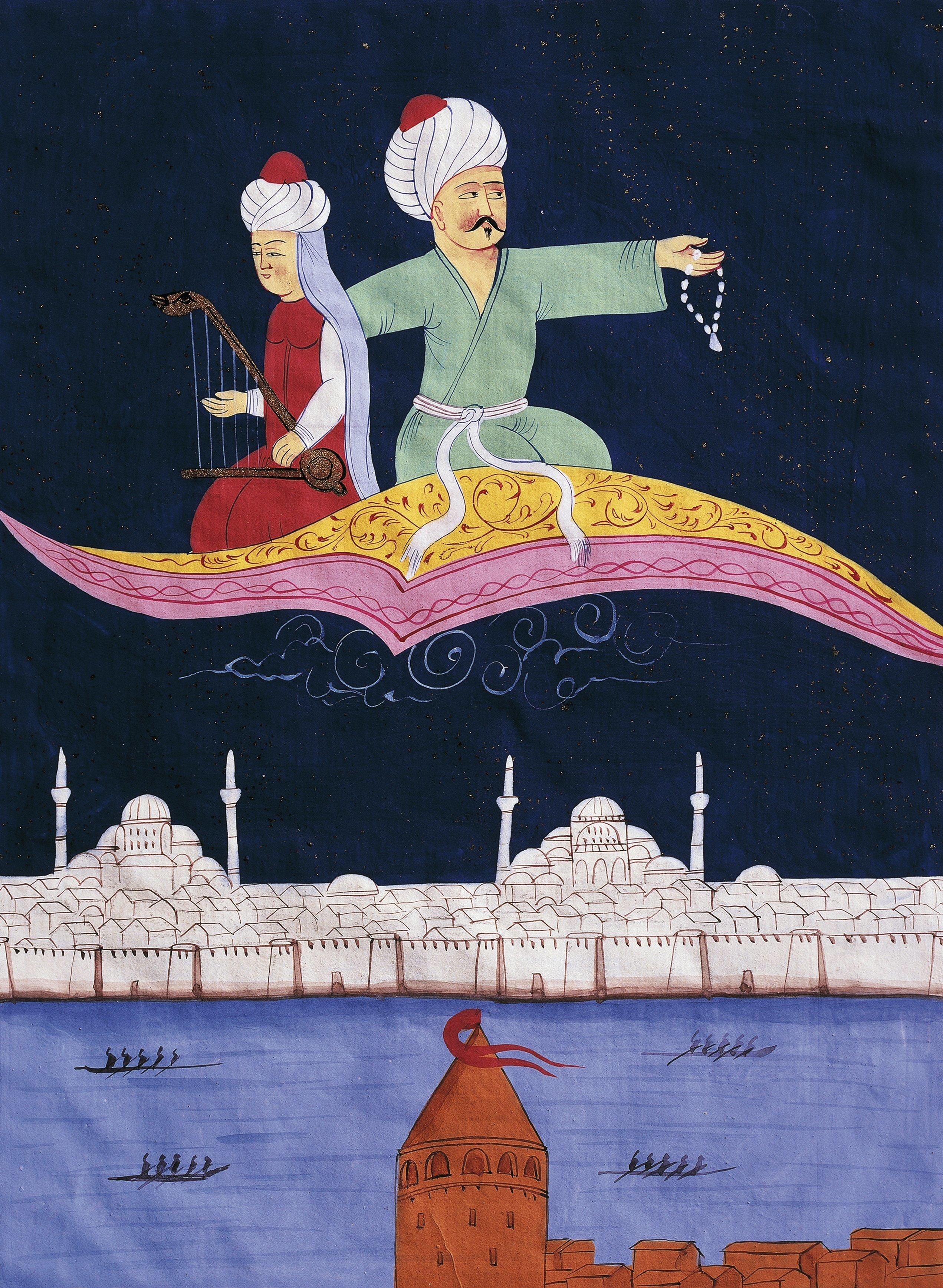 «Χίλιες και μία Νύχτες»: Από τη Συρία στις Βερσαλλίες του Βασιλιά Ήλιου