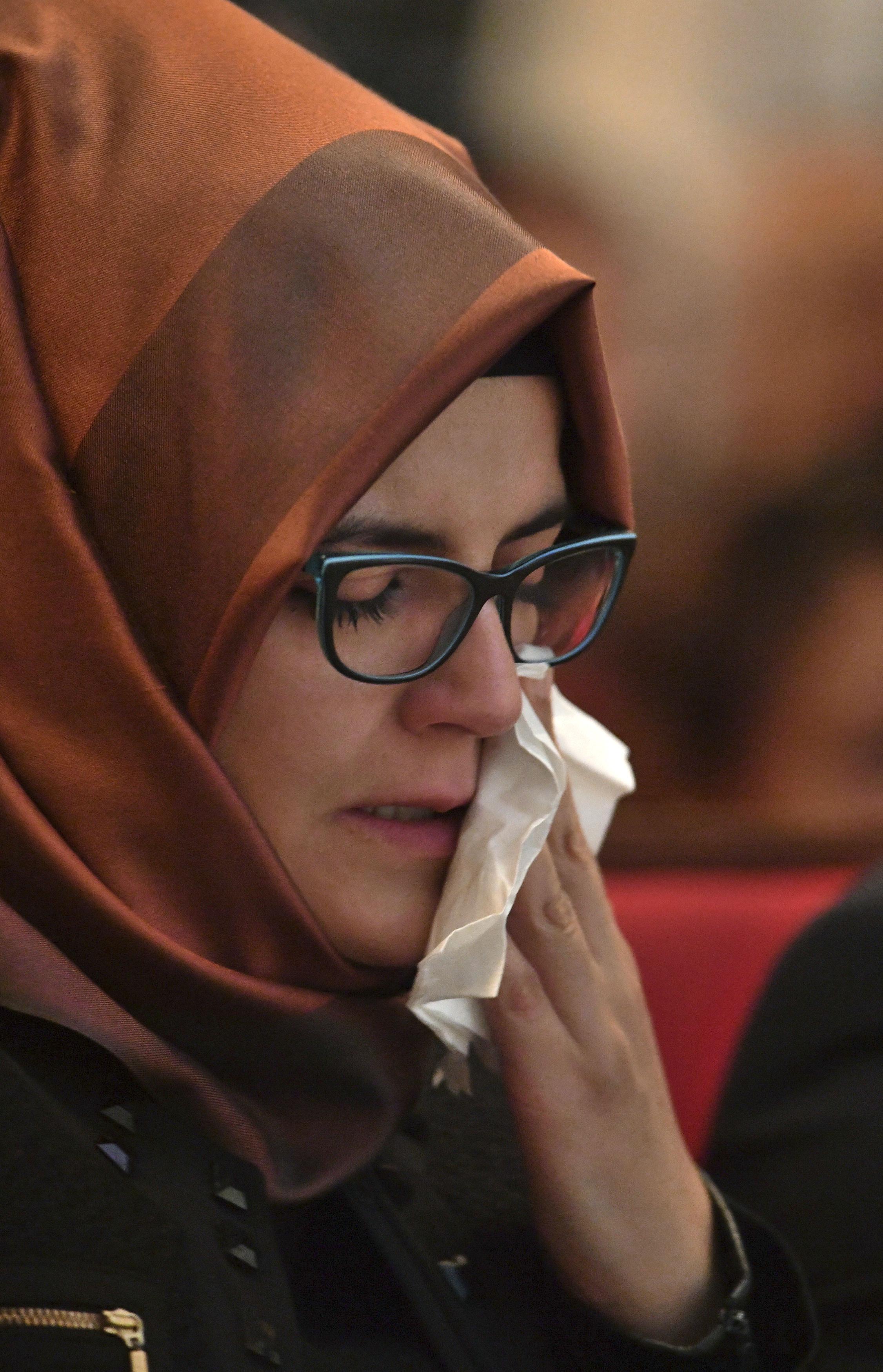 """La fiancée de Khashoggi lance un appel poignant pour son """"Jamal bien-aimé"""""""