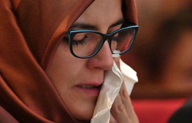 La fiancée de Khashoggi lance un appel poignant pour son