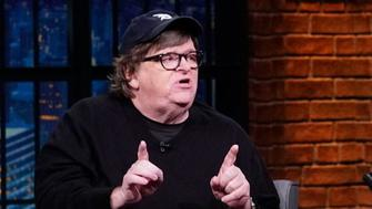Michael Moore talks about the midterm elections, explains why he's wary of predicting the outcome of the election and urges the angry white men of America to give up.