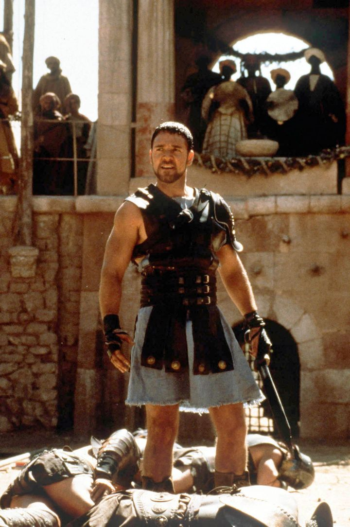 """Russell Crowe as Maximus in the """"Gladiator"""" original."""