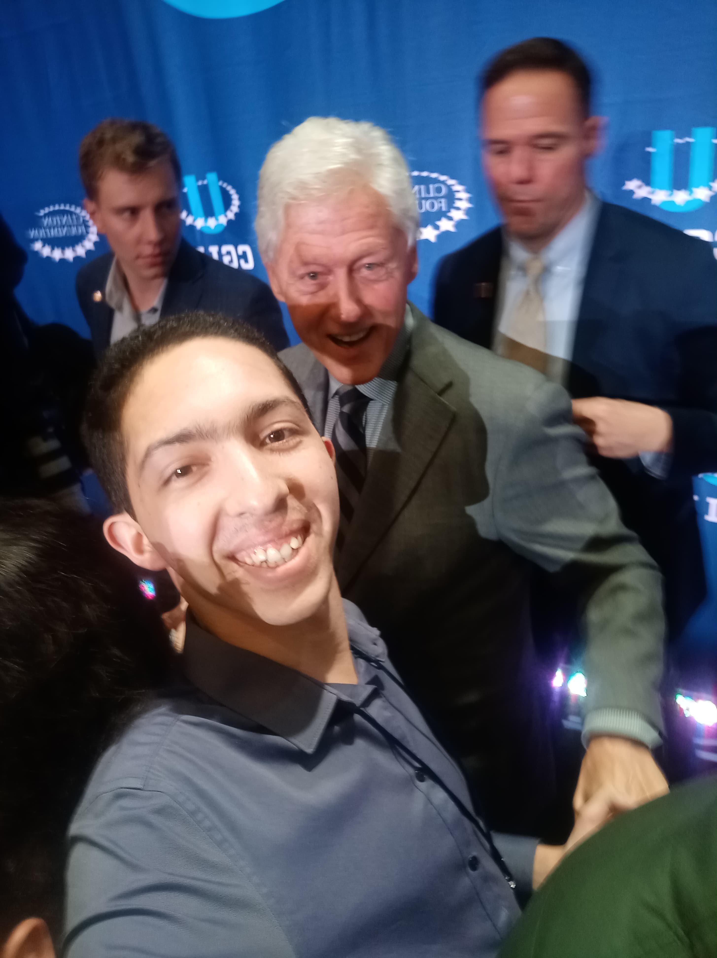 Ce jeune entrepreneur marocain raconte son expérience à la Clinton Global Initiative