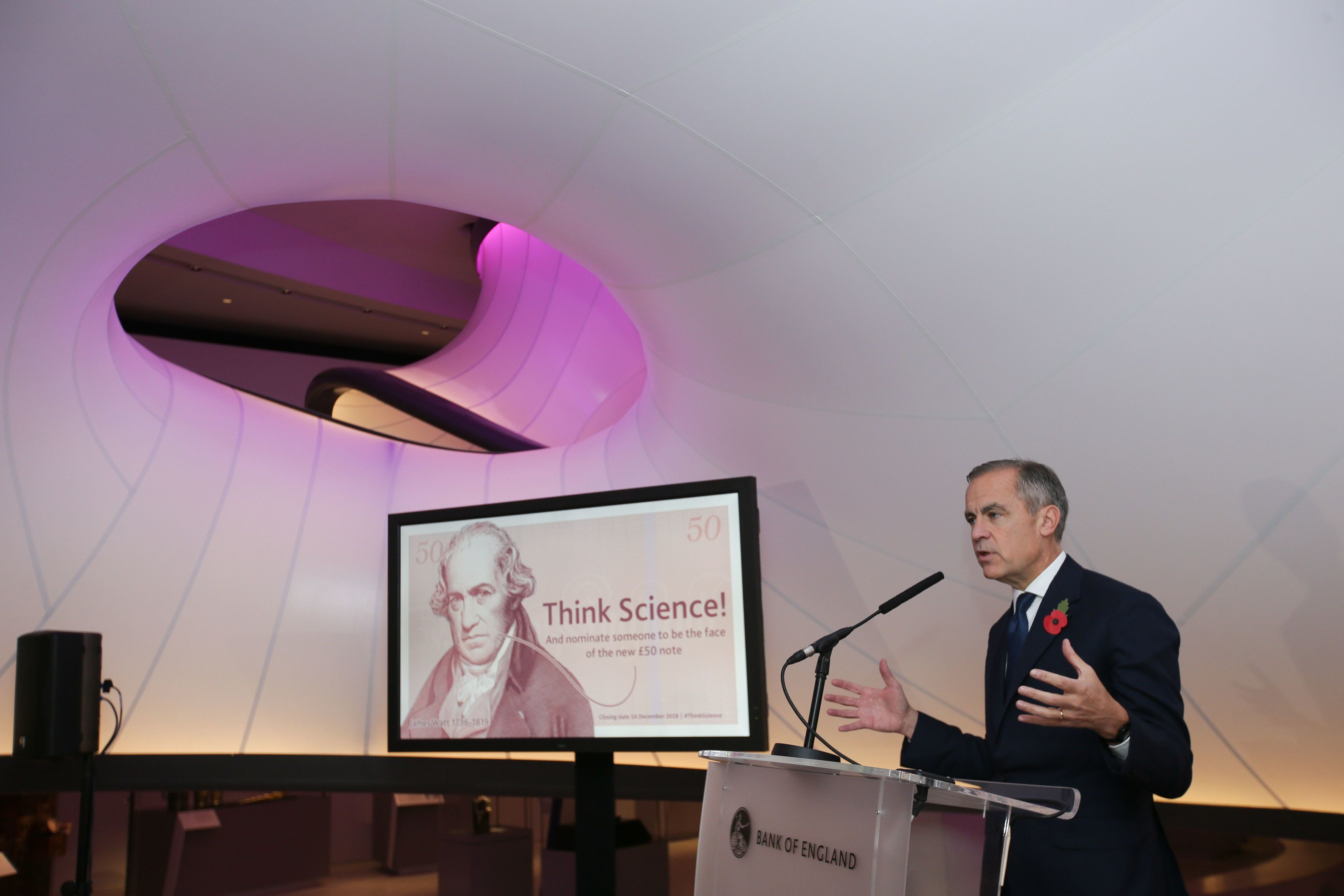 A Scientist Will Be The Face Of The New £50