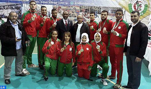 Le Maroc remporte 10 médailles au championnat arabe de