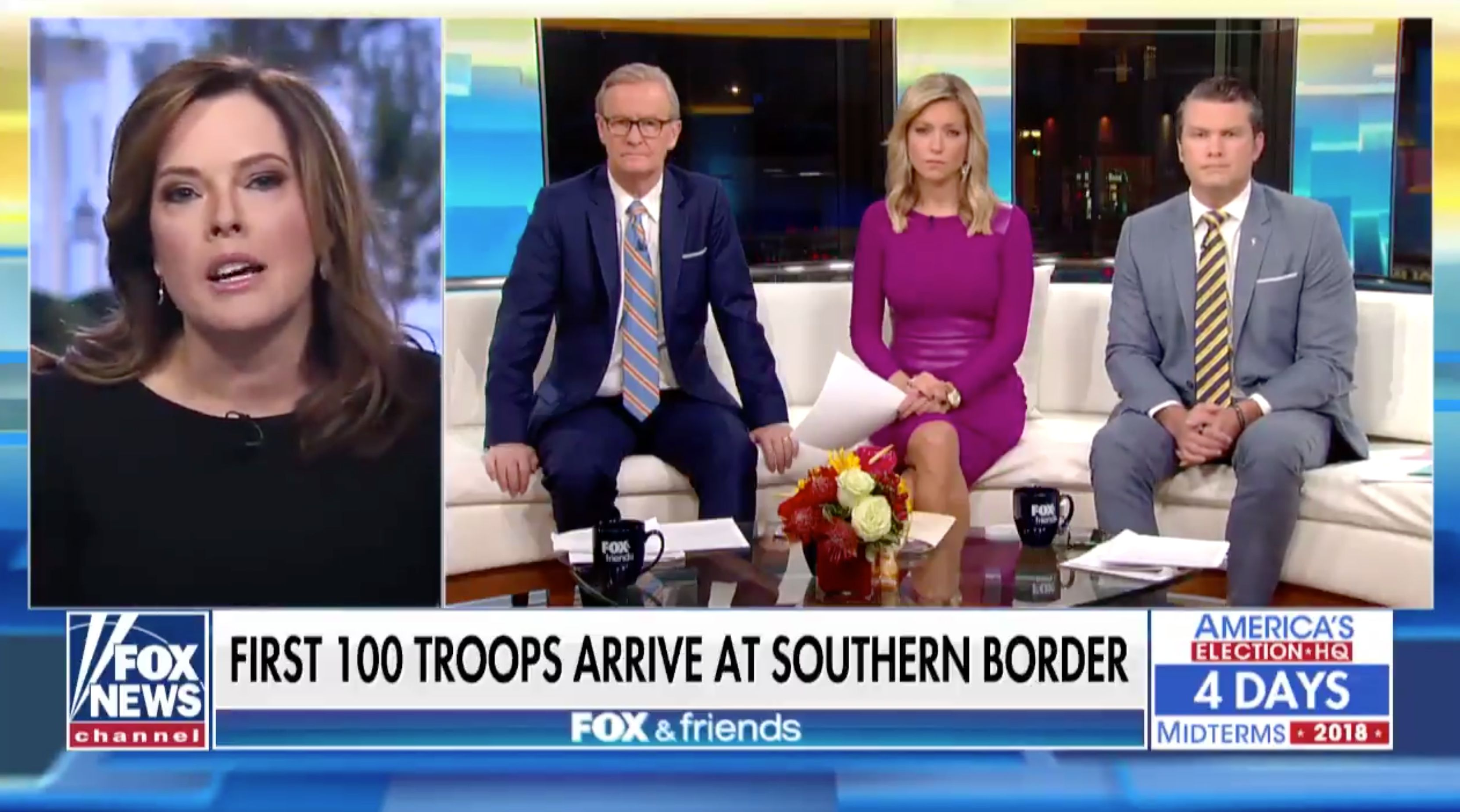 "White House spokesperson Mercedes Schlapp says a ""daily caravan"" enters the U.S."