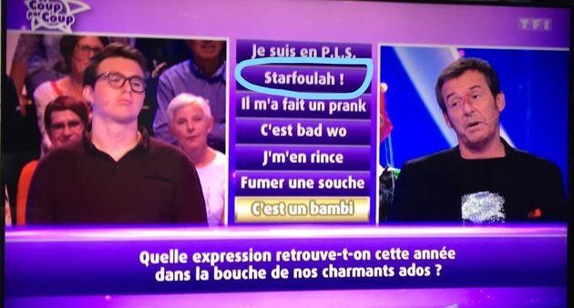 Sur TF1, l'explication du mot