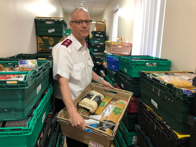 Major Alex Cadogan, leader of the Salvation Army, Preston, says Universal Credit is 'a machine pushing...