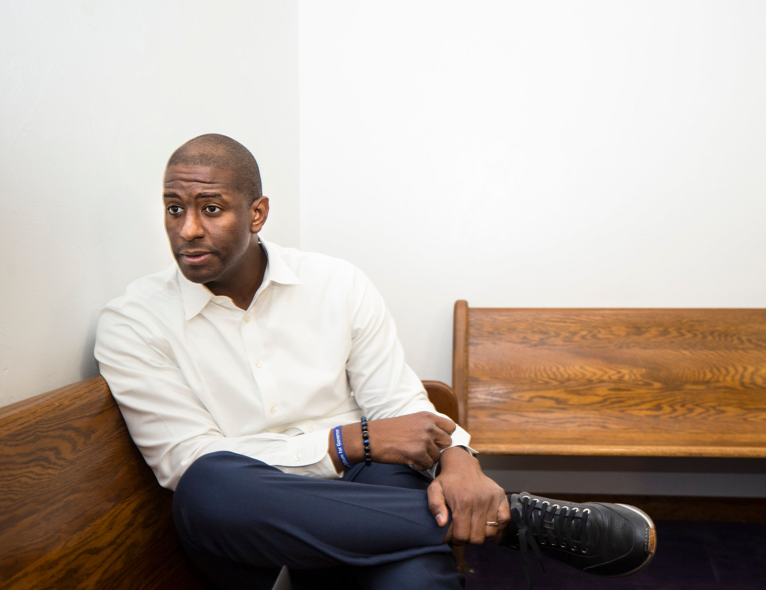 """I don't think people are looking for perfect. They're looking for real,"" says Gillum."