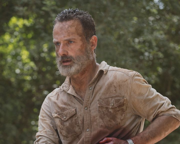 Bye for now, Rick Grimes.