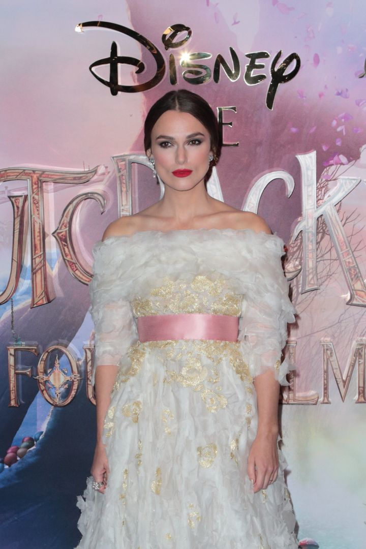 "Keira Knightley attends the European Premiere of Disney's ""The Nutcracker and the Four Realms"" at Vue Westfield on Nov. 1&nbs"