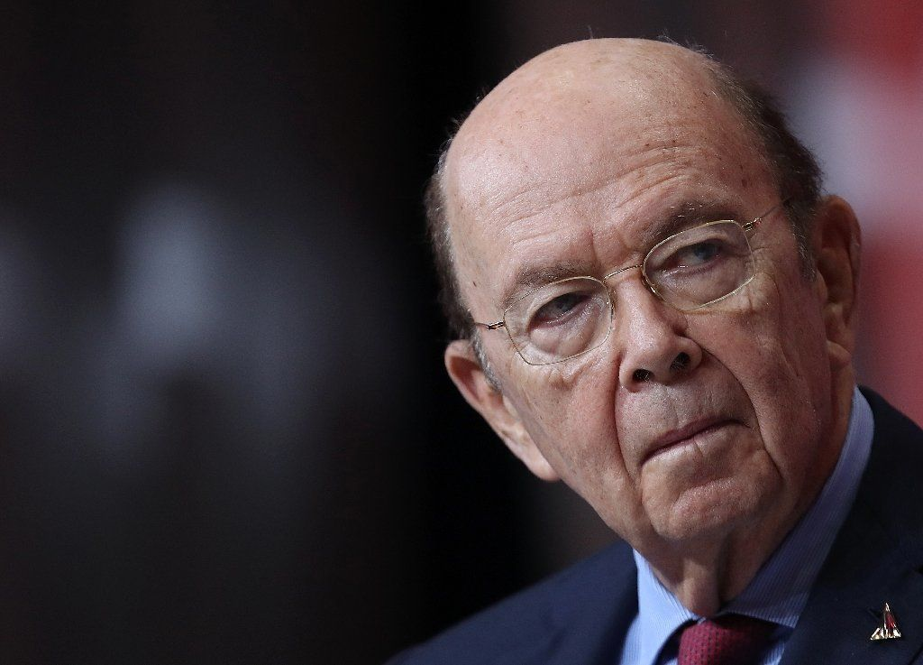 """When a foreign company engages in activity contrary to our national security interests, we will take strong action to protect our national security,"" Commerce Secretary Wilbur Ross said in a statement (AFP Photo/WIN MCNAMEE)"