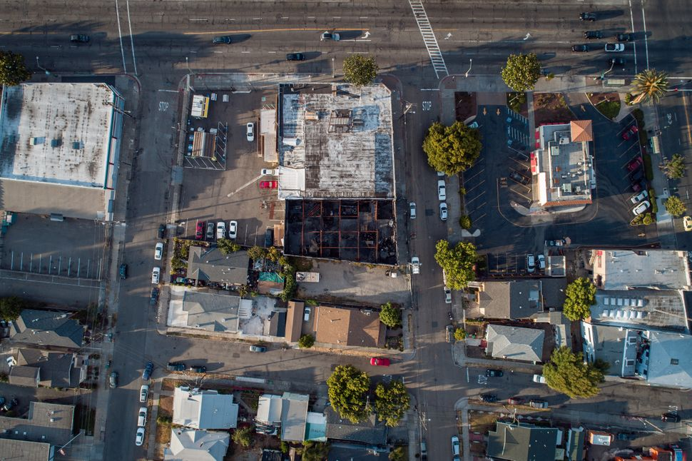 The Ghost Ship warehouse was a few doors down from a row of single-family homes and across from a Wendy's,...