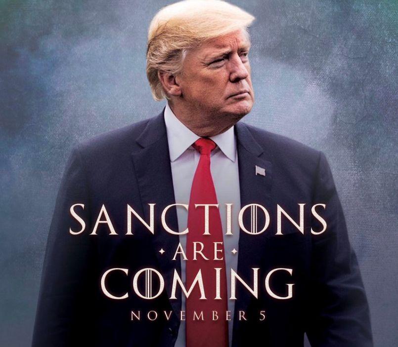 Trump sendet Drohung an den Iran – und klaut dazu bei