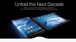 중국 업체가 공개한 '세계 최초 폴더블 스마트폰' 사용감