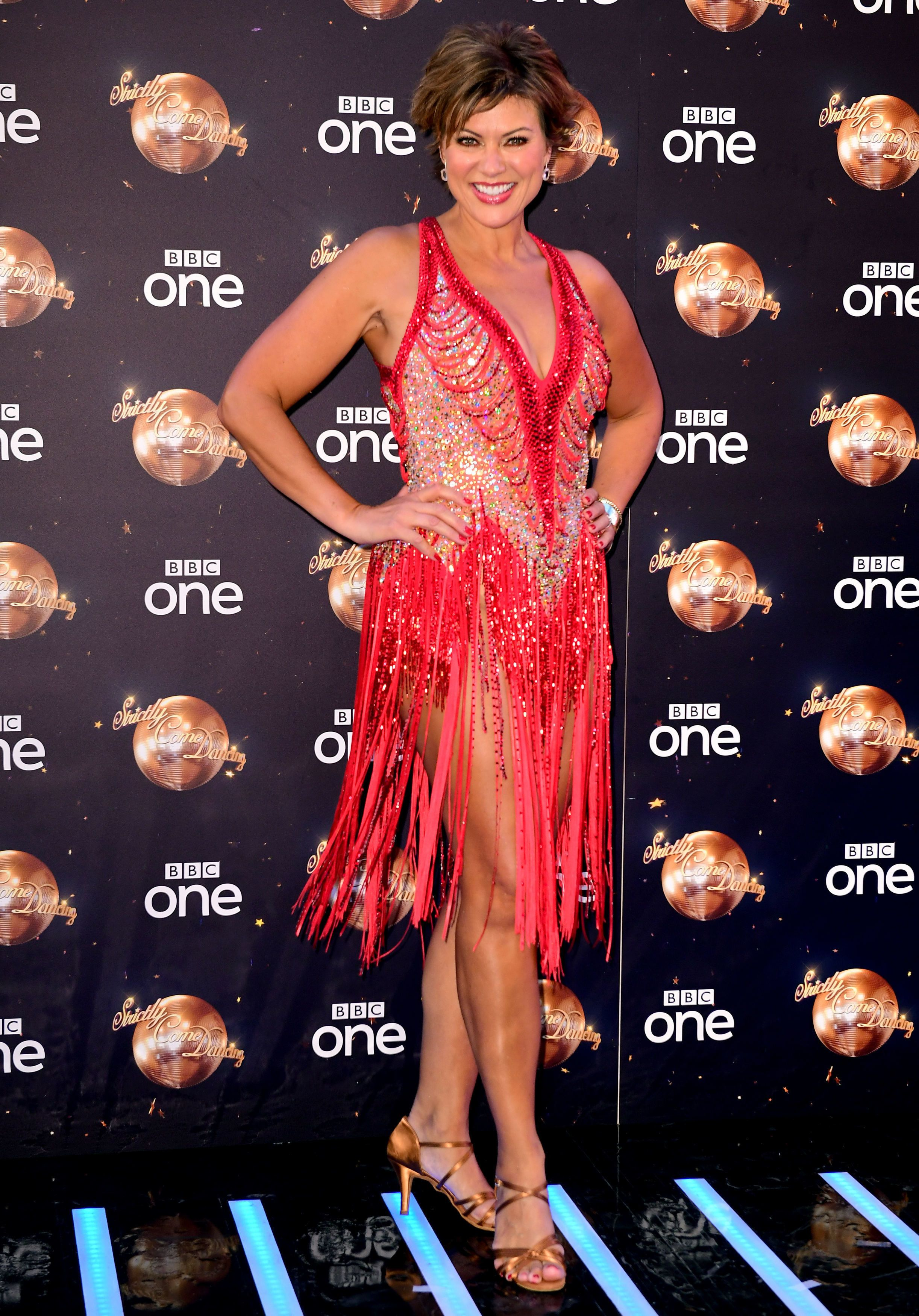 Strictly's Kate Silverton Vows To Dance Through Pain After Stripping Muscle On