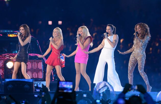 The Spice Girls last performed together at the Olympic closing ceremony in