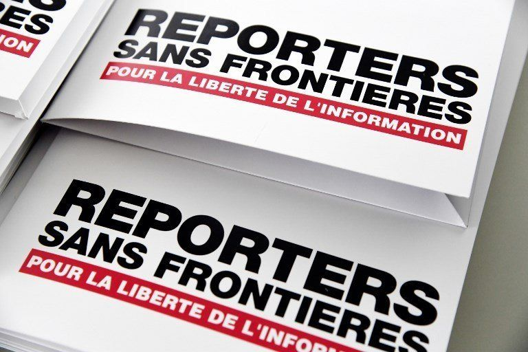 RSF dénonce