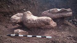«Στο φως» οι Κούροι της Αταλάντης που ανακάλυψε τυχαία
