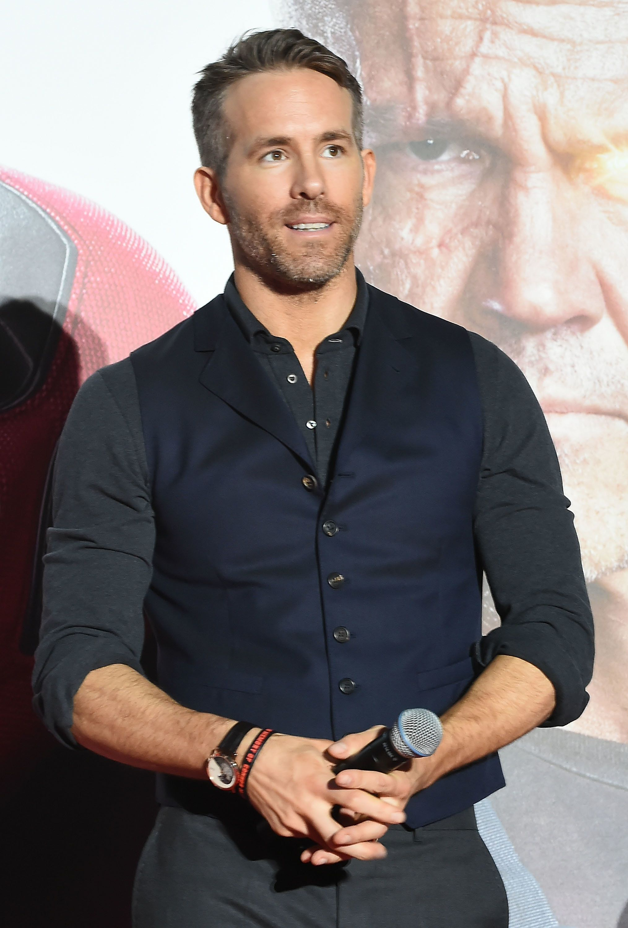 TOKYO, JAPAN - MAY 29:  Ryan Reynolds attends the 'Deadpool 2' Tokyo Premiere at the Roppongi Hills on May 29, 2018 in Tokyo, Japan.  (Photo by Jun Sato/WireImage)