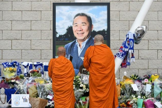 Leicester City Owner's Funeral Takes Place in