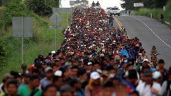 Καραβάνια μεταναστών: Το ταξίδι στο