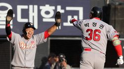 SK 와이번스가 한국시리즈 1차전을