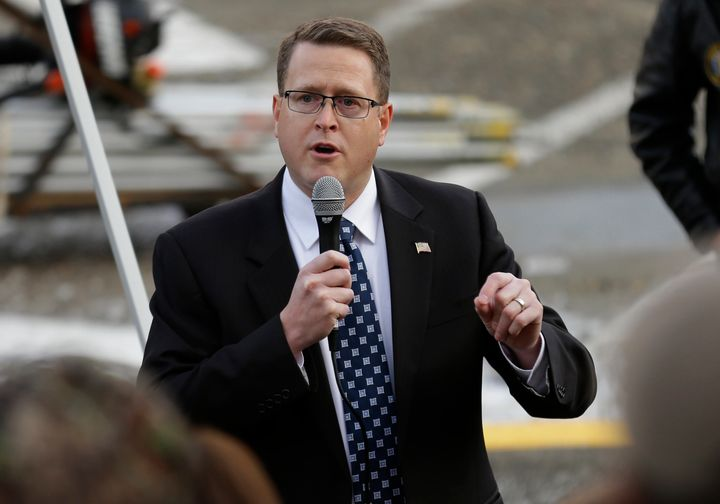 """Rep. Matt Shea, R-Spokane, is facing intense criticism for distributing a document describing how a """"Holy Army"""" should kill people who flout """"biblical law,"""" with some campaign donors asking for their contributions back."""