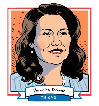 Texas is 40 percent Hispanic, but it has never sent a Latina to Congress — until now. Veronica Escobar, a 49-year-old f...