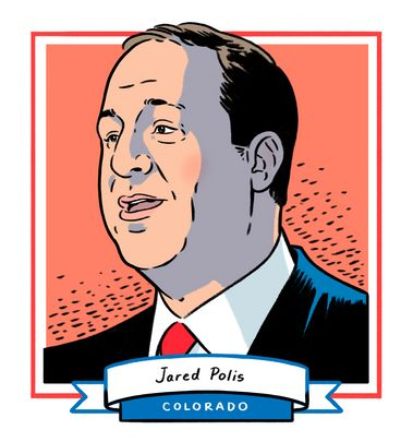 Jared Polis' win in Colorado makes him the first openly gay man elected governor in the U.S.The five-term congressman beat ou...