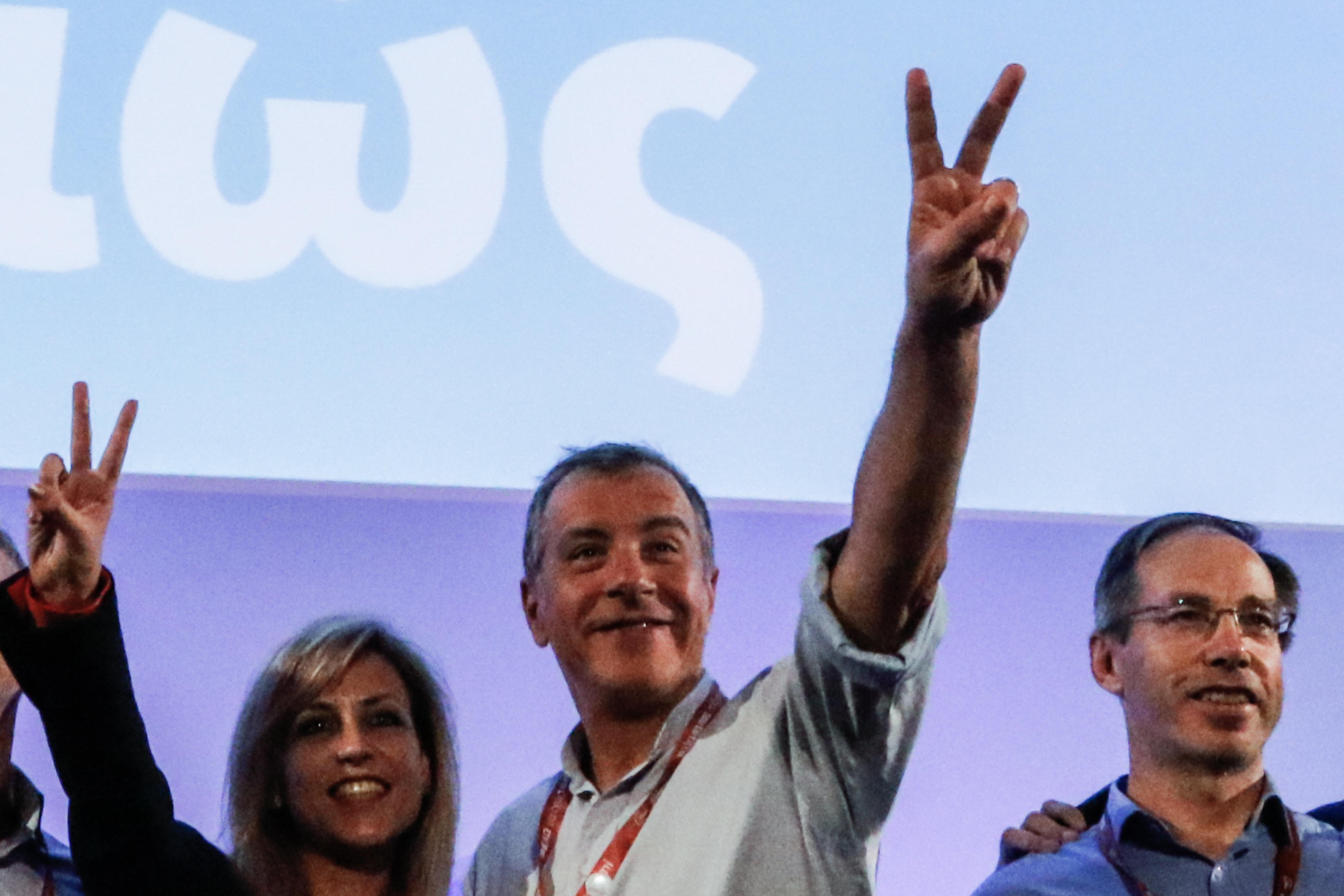 Ο Στ. Θεοδωράκης επανεξελέγη επικεφαλής του Ποταμιού - Αντιπρόεδρος ο Γ.
