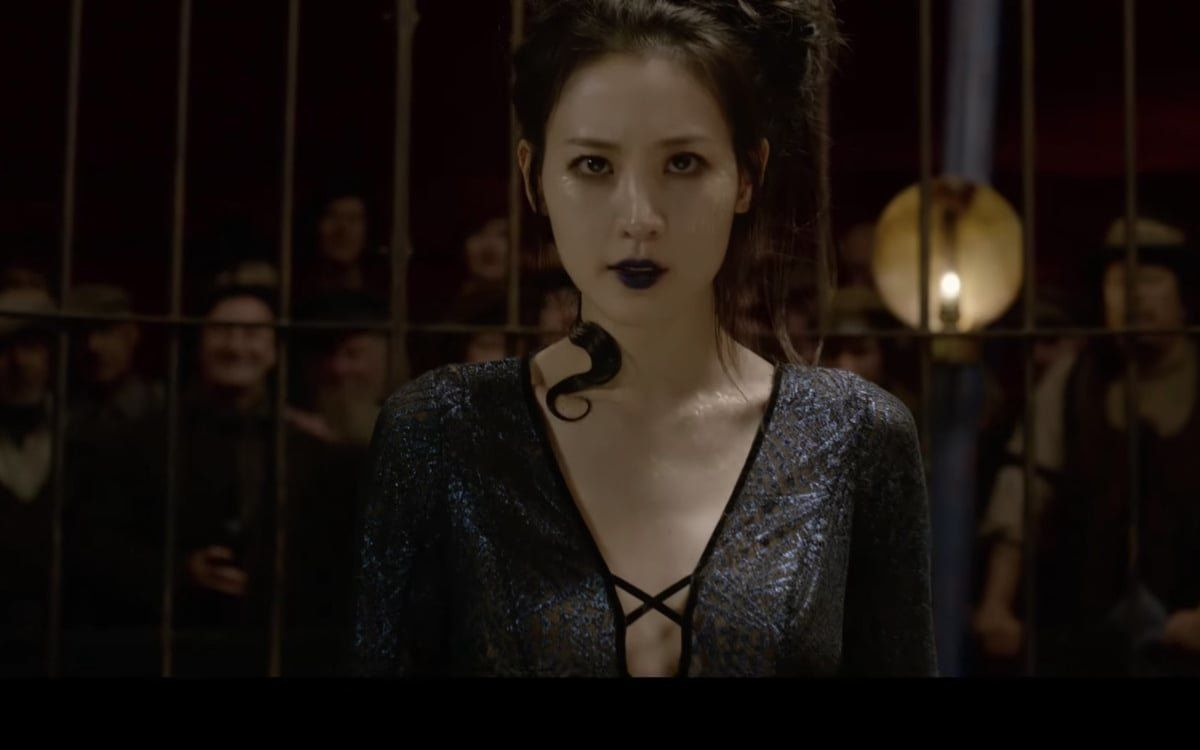 Claudia Kim Seems As Out Of The Loop About Nagini's Story As We