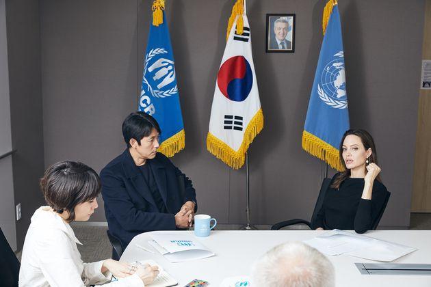 안젤리나 졸리가 한국을 방문한 또 하나의