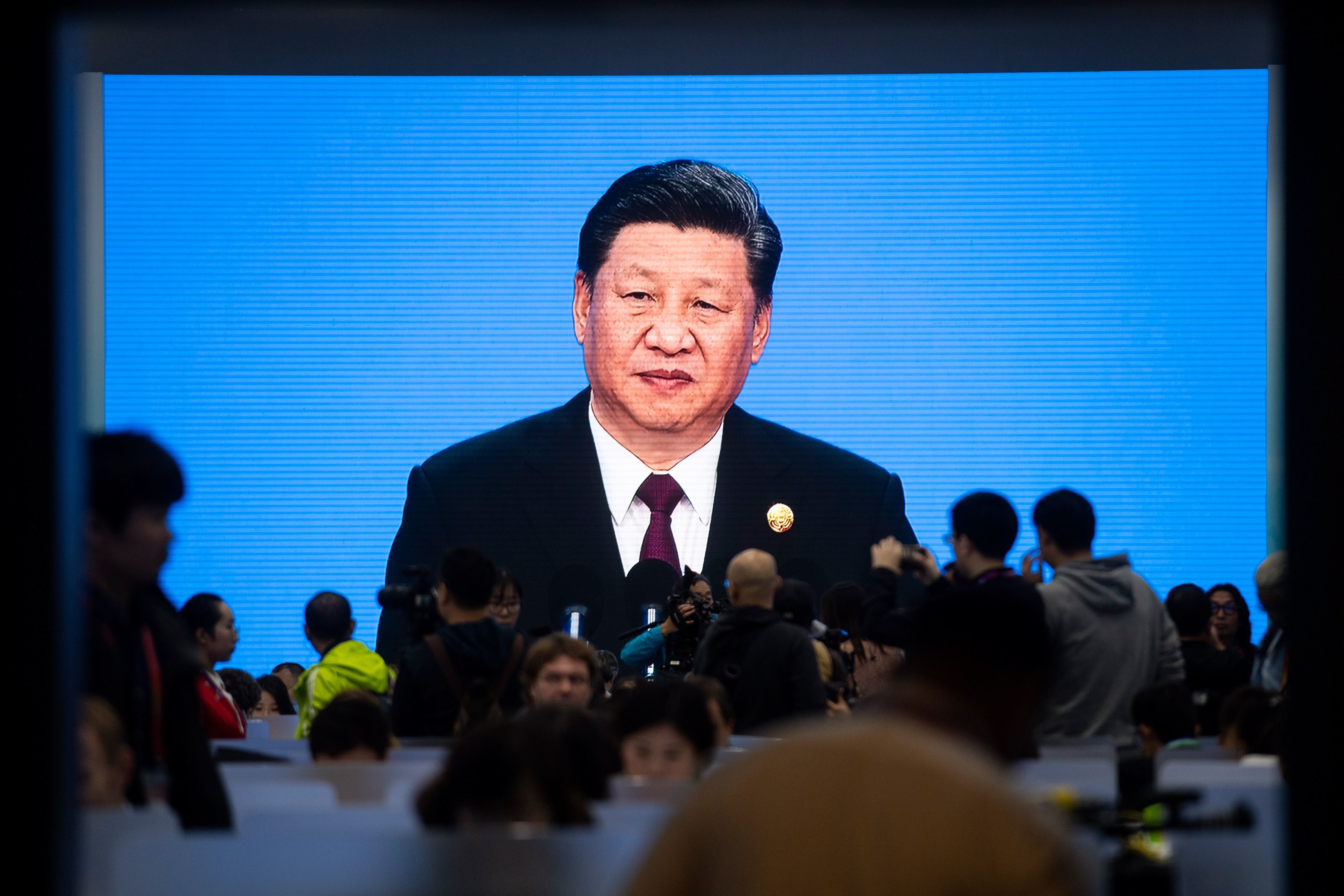 시진핑이 '시장 개방 확대'를 천명하며 약속한 15년간 수입액