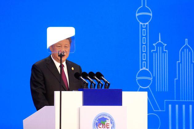 중국 시진핑이 '시장 개방 확대'를 천명하며 약속한 15년간 수입액