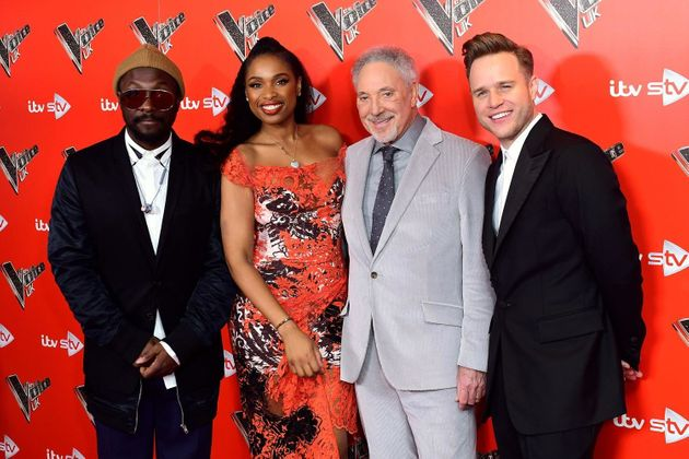 'The Voice' coaches (l-r): will.i.am, Jennifer Hudson, Tom Jones and
