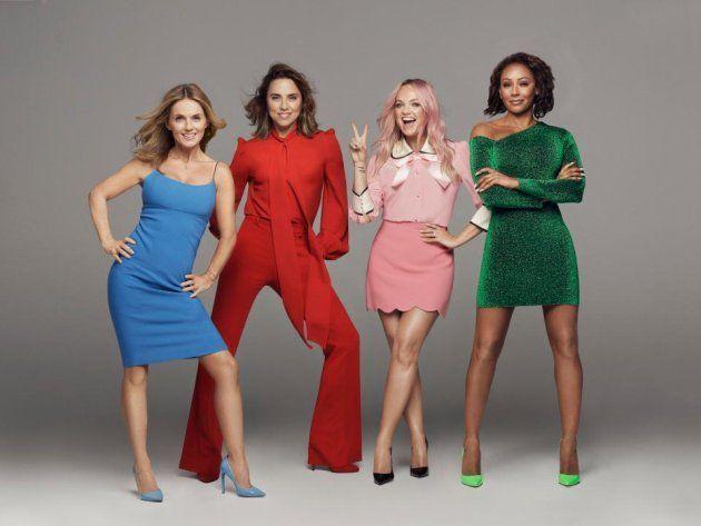 Les Spice Girls de retour avec cette photo sans Victoria