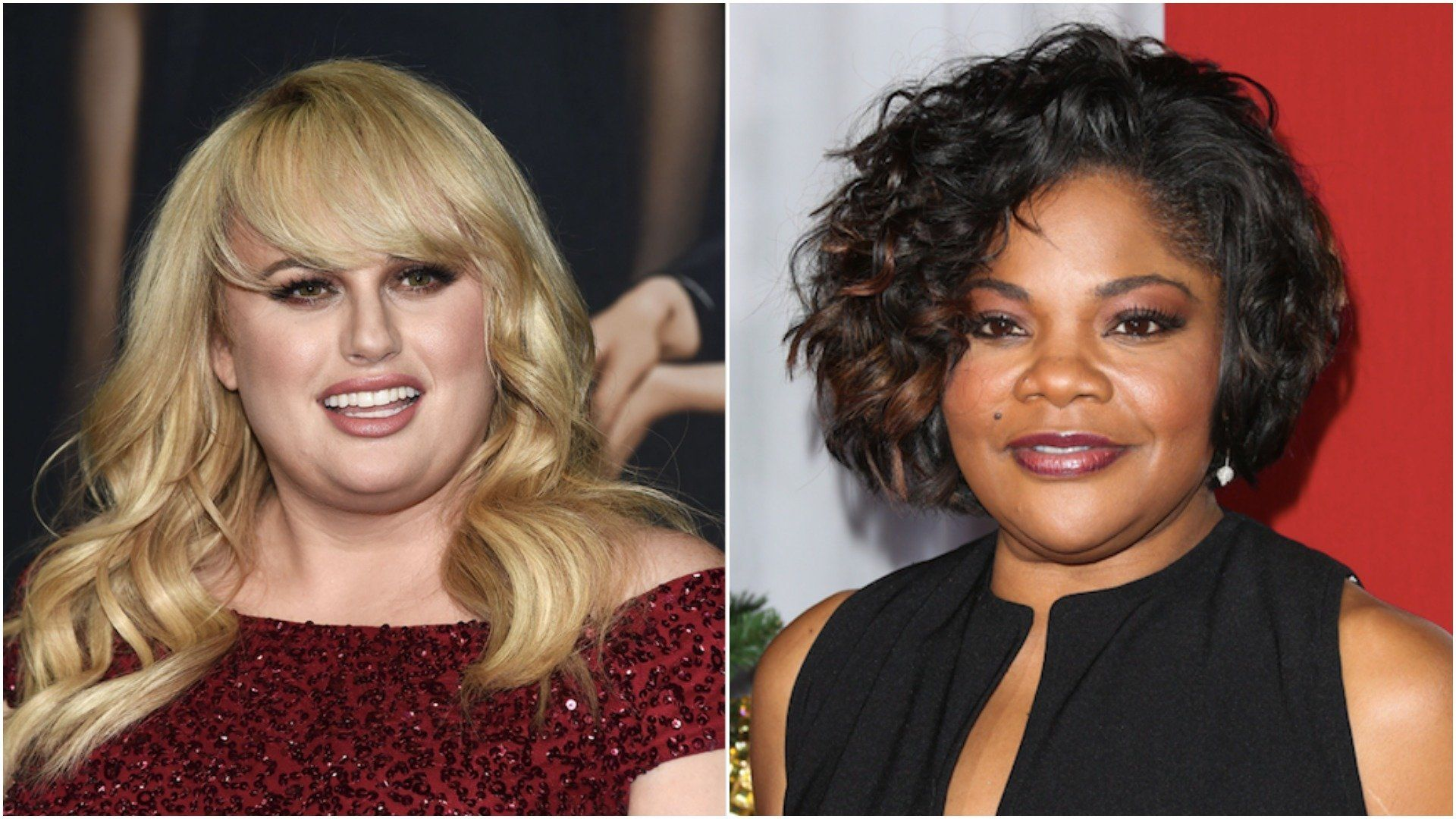 Rebel Wilson (left) sparked controversy last week when she claimed to be the first-ever plus-size star of a romantic comedy.