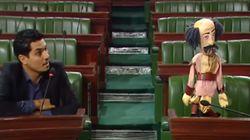 Le ministre des Affaires sociales s'absente d'une plénière qui lui est dédiée? Ce député le remplace par une marionnette!