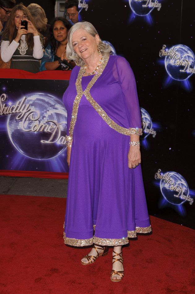 Ann Widdecombe at the 2010 'Strictly' launch