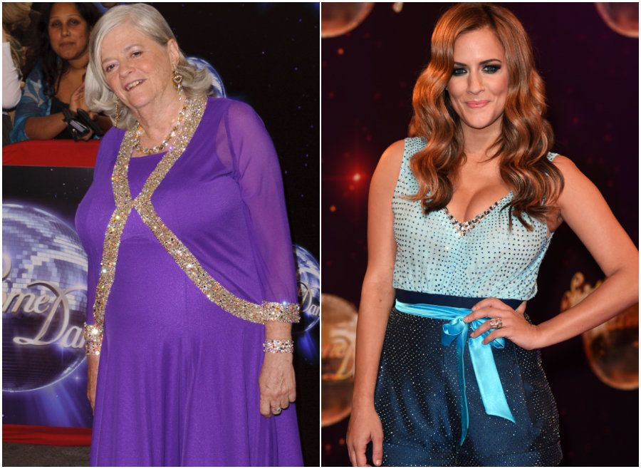 Caroline Flack And Ann Widdecombe Among Stars Returning For 'Strictly' Christmas
