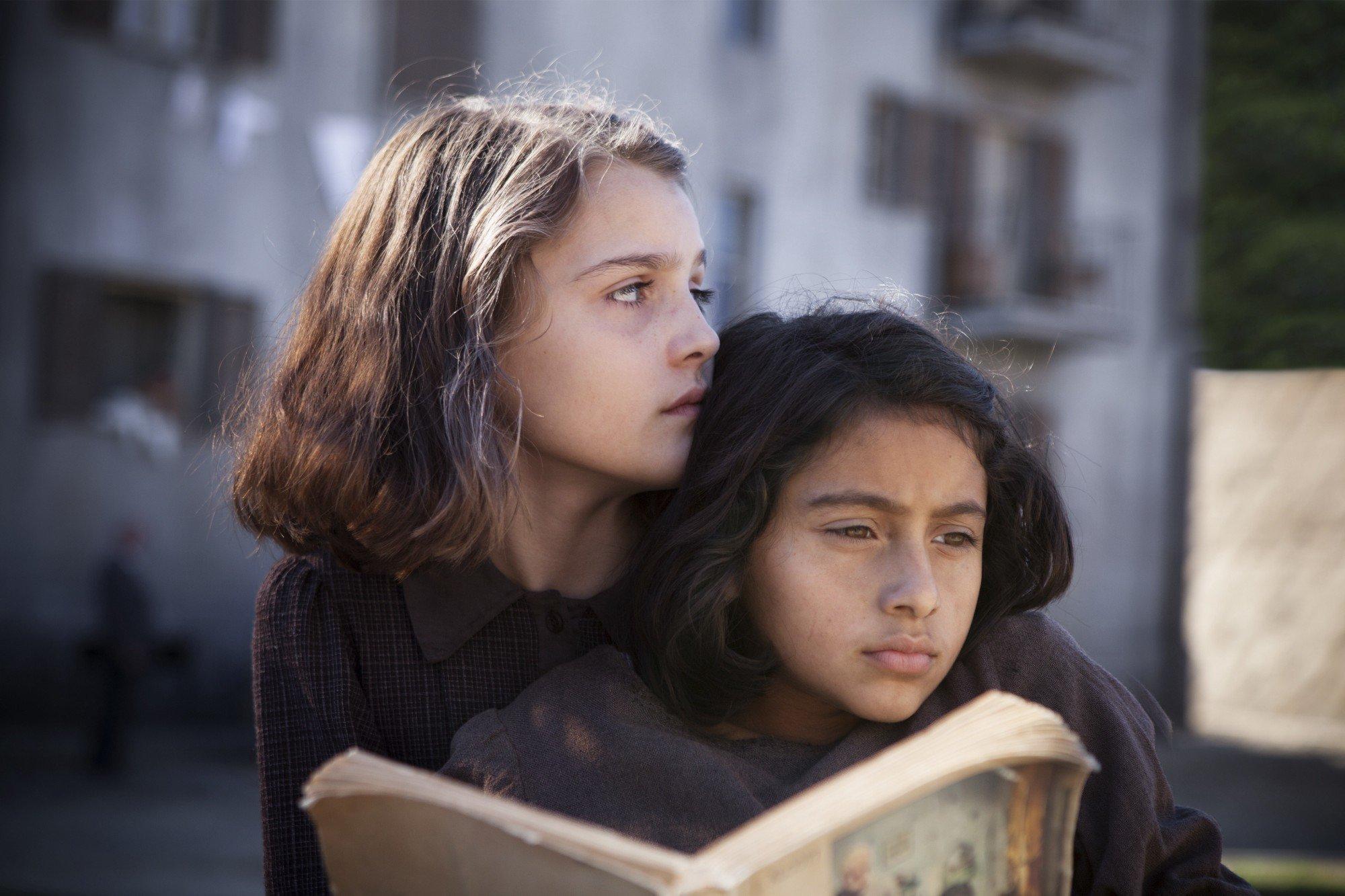 """Elisa Del Genio and Ludovica Nasti as Elena and Lila in """"My Brilliant Friend."""""""